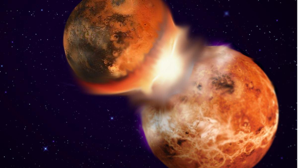 Wie der Mond entstanden ist