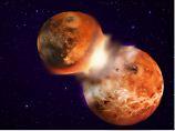 Studien präzisieren Crash-Theorie: Wie der Mond entstanden ist