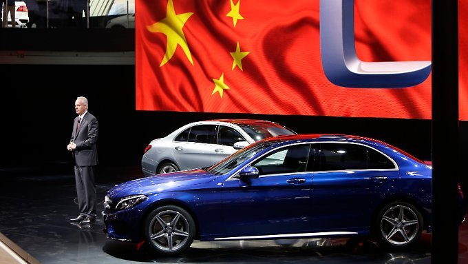 USA abgelöst: China steigt zum größten Markt für Daimler auf