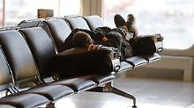 Schlafen auf Flughäfen: Hier finden Reisende Ruhe