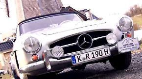 Zeitloser Klassiker: Mercedes 190 SL ist ein Lebensgefühl auf vier Rädern