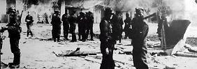 Deutsche Soldaten beim Massaker in Distomo: Bis heute haben die Hinterbliebenen keine Entschädigung bekommen.