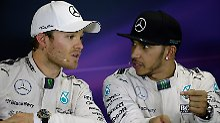 Fünf Lehren aus dem GP von China: Rosberg giftet gegen Hamilton, Vettel freut's