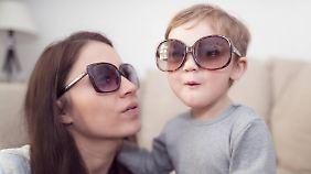 Eigentlich ganz süß - die Brille.