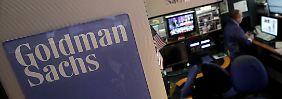 Goldman Sachs verweist auf ein gut laufendes Investmentbanking.