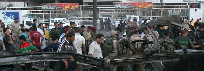 Bagdad verbarrikadiert sich: Tausende Iraker fliehen vor dem IS