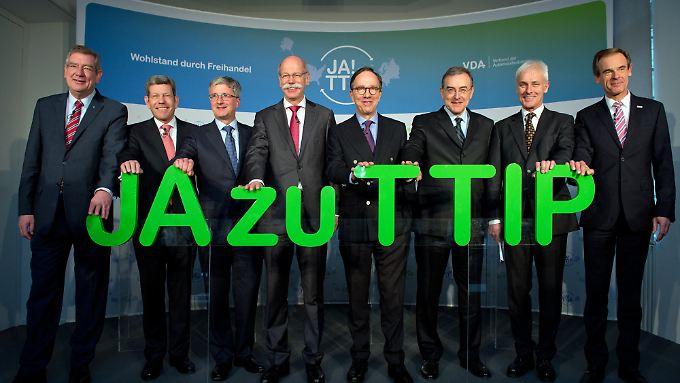 In der kommenden Woche steht die nächste TTIP-Verhandlungsrunde in New York an.