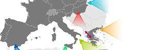 Gefährlicher Weg übers Mittelmeer: So kommen die Flüchtlinge nach Europa