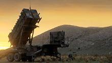 Auch die Bundeswehr verfügt über die Raketenabwehrsysteme vom Typ Patriot.
