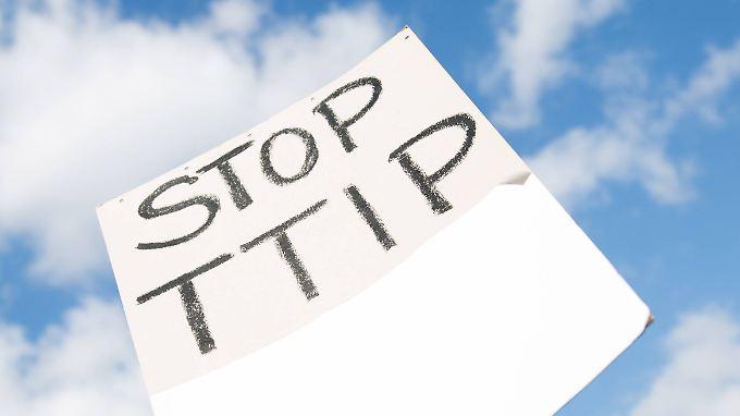 In Europa gibt es immer klare Kritik an TTIP.