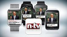Nachrichten auf dem Handgelenk: n-tv App für Smartwatches