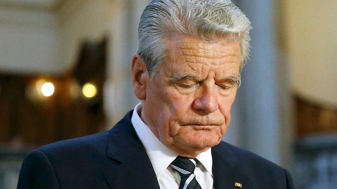 Es war schon länger klar, dass sich Gauck bei seiner Einordnung der Vorgänge im Osmanischen Reich nicht um das V-Wort herumdrücken würde.