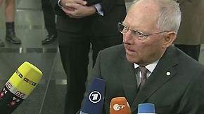 Finanzminister-Treffen in Riga: Schäuble dämpft Hoffnungen vor Griechenland-Gipfel