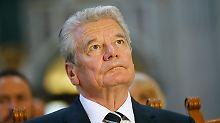 """""""Bedürfnis vieler Griechen"""": Gauck ist offen für Reparationen"""