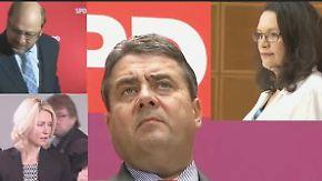 Wer tritt gegen Merkel an?: SPD-Basis erwartet von Gabriel Mut zum K-Wort