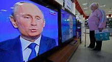 Die russischen Staatsmedien verstehen sich vor allem als Lautsprecher der Regierung von Wladimir Putin.