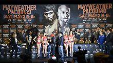 Es ist angerichtet: Jetzt müssen Floyd Mayweather und Manny Pacuqiao am 2. Mai auch tatsächlich in den Ring steigen.