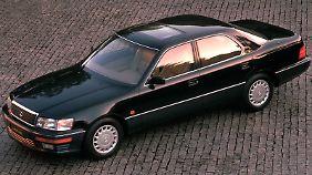 Mit dem Lexus LS 400 startete Lexus in Europa.