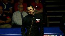 """Superstar scheitert bei Snooker-WM: """"Rocket"""" O'Sullivan erleidet Fehlzündung"""
