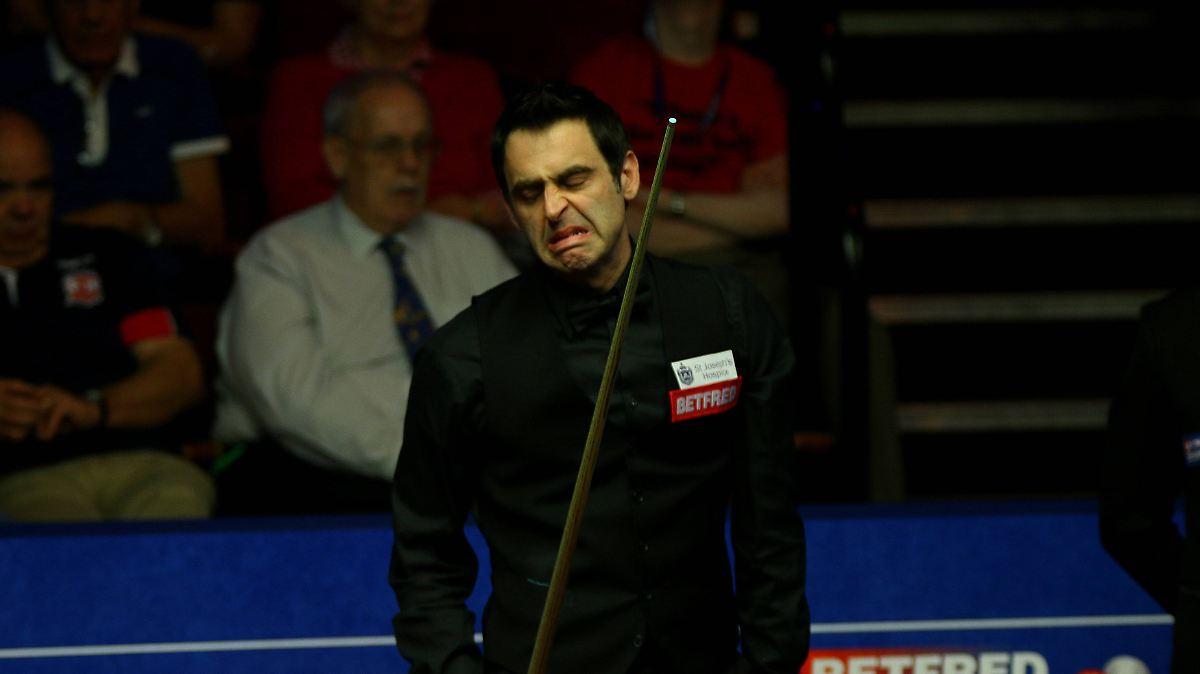 Superstar Scheitert Bei Snooker Wm Rocket O 39 Sullivan