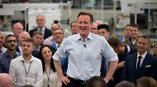David Cameron kämpft für eine zweite Amtszeit als britischer Premierminister.