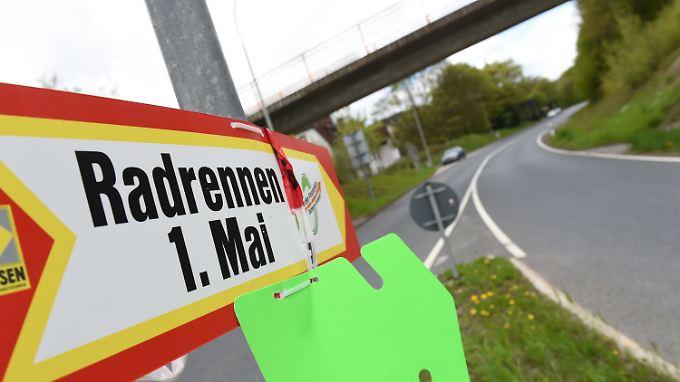Das Radrennen wurde aufgrund Sicherheitsbedenken abgesagt.
