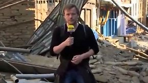 Erdbeben in Nepal: Deutsches Hilfsteam kämpft sich in Bergdörfer vor