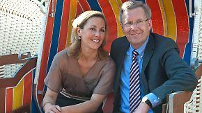 Scheidung gestoppt: Christian und Bettina Wulff wieder ein Paar
