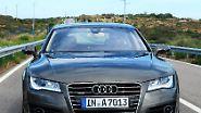 So sieht er aus: Audi A7: Schönes Heck