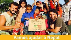 Von Backpackern zu Lebensrettern: Rucksacktouristen starten Hilfsaktion in Nepal