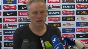 """Freiburg-Trainer Streich ohne Angst: """"Mich interessiert der HSV relativ wenig"""""""