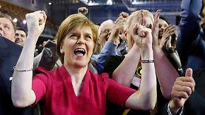 Dank Shooting-Star Nicola Sturgeon: Schottische Nationalpartei feiert Wahltriumph
