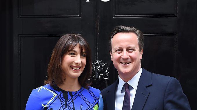 Cameron bleibt an der Macht.