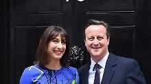 Amtliches Endergebnis: Tories holen 331 Mandate