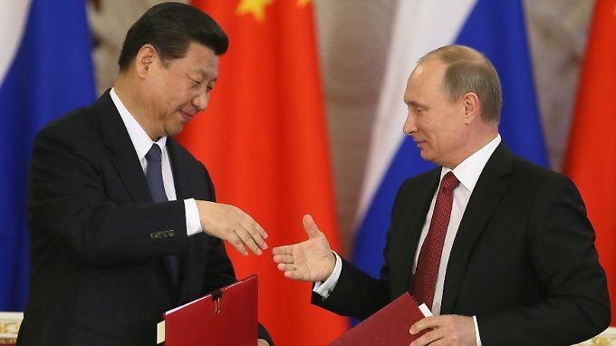 China bezieht seit 2013 russisches Gas.