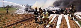 Vier Insassen sterben: A400M stürzt nahe Sevilla bei Testflug ab