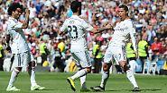 """Absoluter Krösus im Weltfußball ist und bleibt Real Madrid. Die """"Königlichen"""" um Cristiano Ronaldo sollen 3,26 Milliarden Dollar wert sein - und sind somit der wertvollste Fußballklub der Welt."""