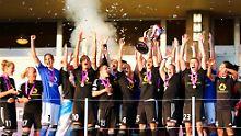 Der 1. FFC Frankfurt ist zum vierten Mal die besten Frauenfußballmannschaft Europas.