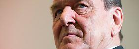 """""""Ja, er ist mein Freund"""": Schröder bricht eine Lanze für Putin"""