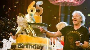 65 Jahr', blondes Haar: Stars feiern Thomas Gottschalk