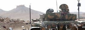 Nach Einnahme von Palmyra: IS beherrscht die Hälfte Syriens