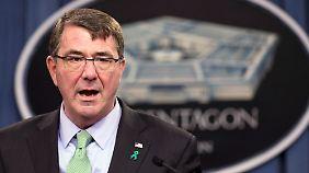 IS weiter auf dem Vormarsch: Pentagon-Chef kritisiert Kampfmoral der Iraker