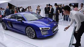 Eine Branche im Wandel: Autonomer Elektro-Audi eröffnet erste CES in Shanghai