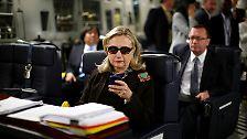 Dicht auf den Fersen ist ihr allerdings US-Präsidentschaftsanwärterin Hillary Clinton.