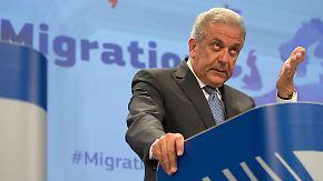 Gros soll nach Deutschland: EU will 40.000 Flüchtlinge per Quote umverteilen