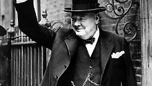 Churchill 1943 in London.