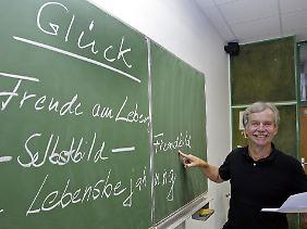 Es war ein Wirtschaftsgymnasium, an dem Fritz-Schubert das Glück 2007 auf den Stundenplan setzte.