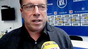 """Relegation HSV vs. KSC: Kauczinski: """"Wir sind gefährlich für jede Mannschaft"""""""