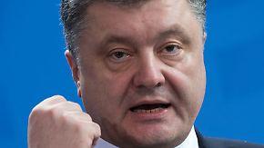 Entscheidende Tage in der Ukraine: Poroschenko droht Kriegsrecht auszurufen