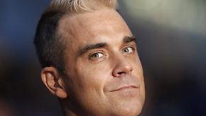 Promi-News des Tages: Robbie Williams hilft todkranken Kindern
